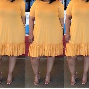 Flirty Dress w/Ruffles and Pockets